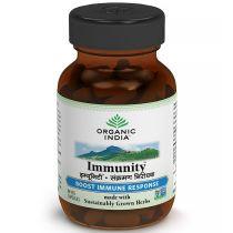 Immunity 60Capsules Bottle organic india 10% discount