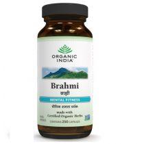 Brahmi 250 Capsules Bottle organic india