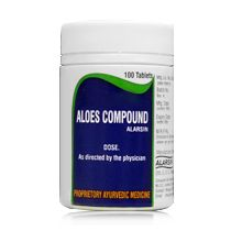 Aloes Compound Alarsin 100 Tablets