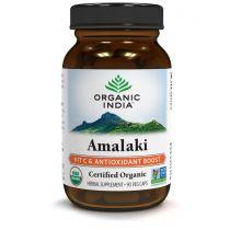 Amalaki 60 Capsules Bottle Organic India 10% discount