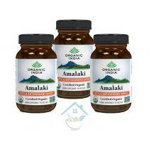 Amalaki 60 Capsules Bottle Organic India 20% discount pack of 3