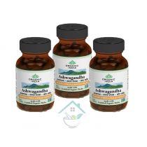 Ashwagandha 60 capsule organic india 20% discount pack of 3