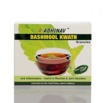 Dashmool Kwath Granules - 20 Pouches of 2gm Abhinav Discount 10%