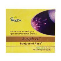Beejpushti Rasa 30 Tablets Dhootpapeshwar