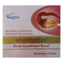 Stree Vyadhihari Rasa 30 Tablets Dhootpapeshwar 18% Discount