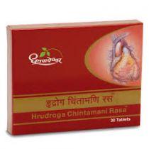 Hrudrogachintamani Rasa 30 Tablets Dhootpapeshwar