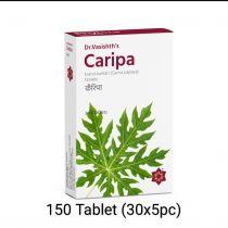 CARIPA Tablet 150 (30x5pc) Dr Vasishth Discount 15%