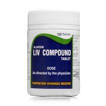LIV COMPOUND - 100 tablets alarsin