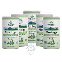 Moringa Powder 100 Gram organic india 10% discount pack of 5