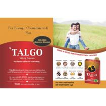 Talgo 500mg - 10 capsules Ailvil Discount 10% pack of 3